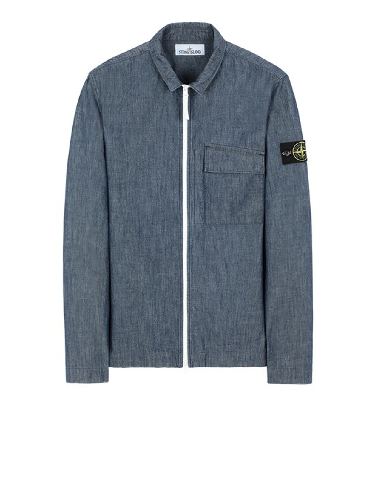 11207 Chambray Canvas - Stone Island