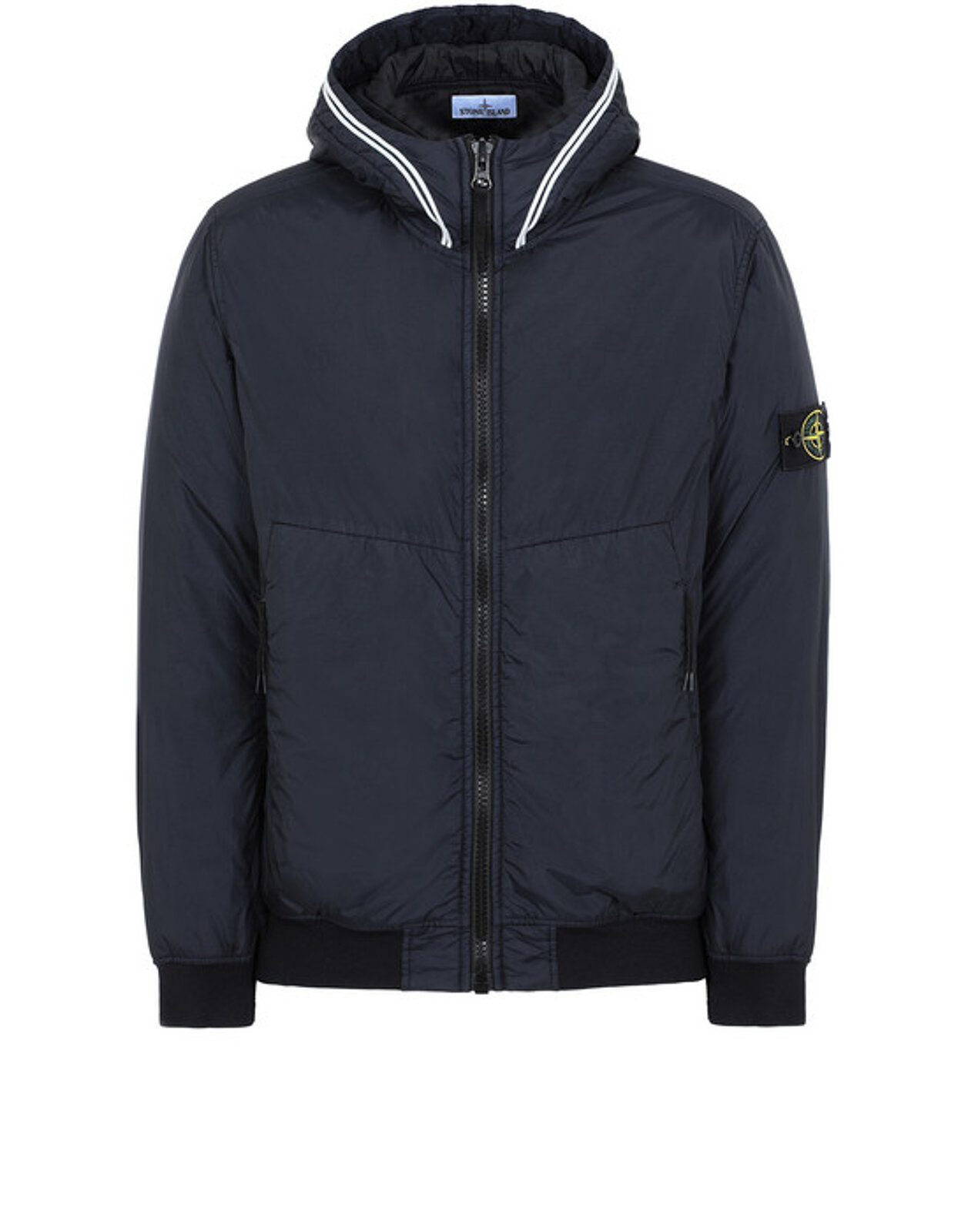 Garment Dyed Crinkle Reps Ny Con Primaloft®-Tc - Stone Island