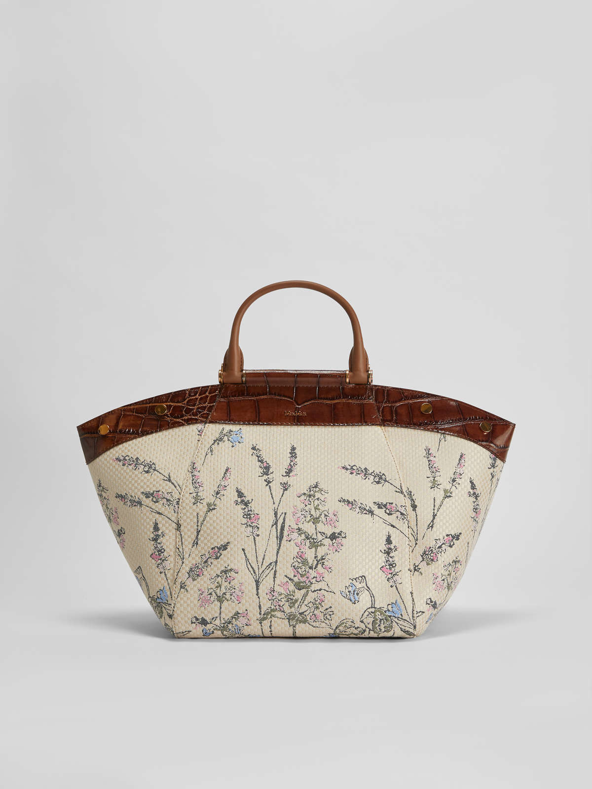Tote Bag in jacquard fabric - Max Mara