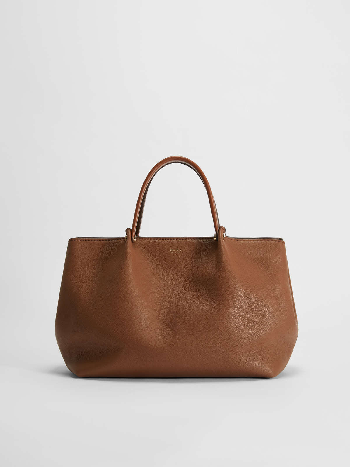 Leather Tote Bag - Max Mara