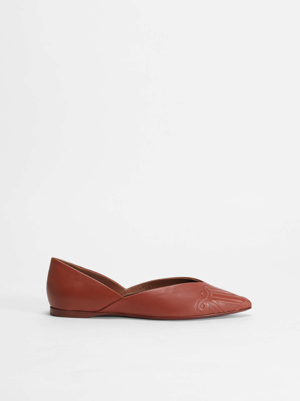 Ballerina in nappa leather - Max Mara