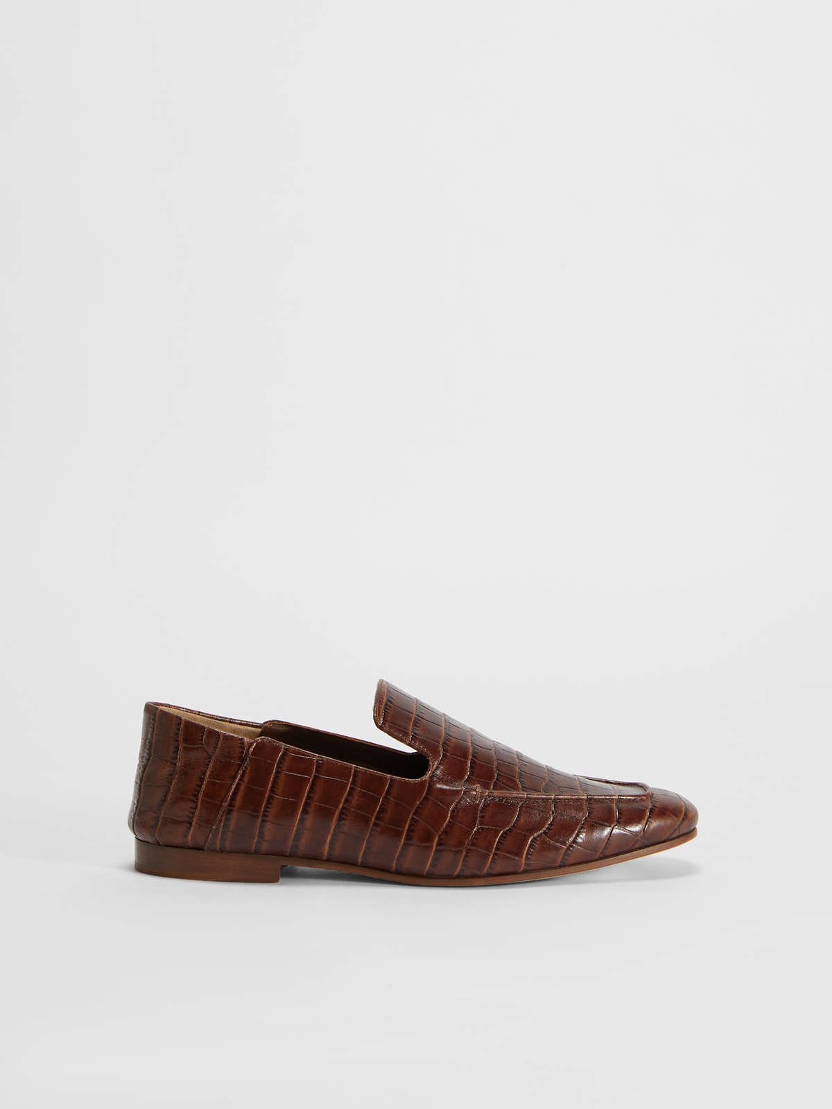 Loafer in pelle stampa coccodrillo - Max Mara