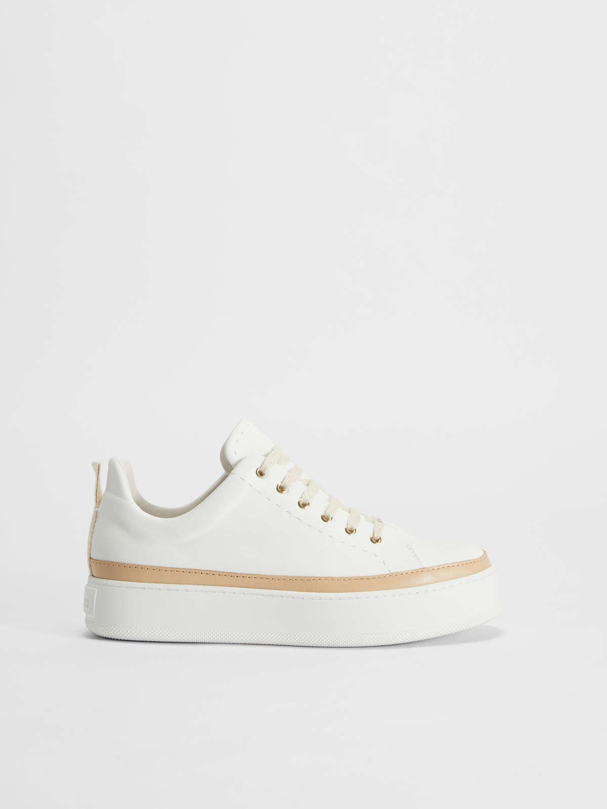 Sneaker in pelle - Max Mara