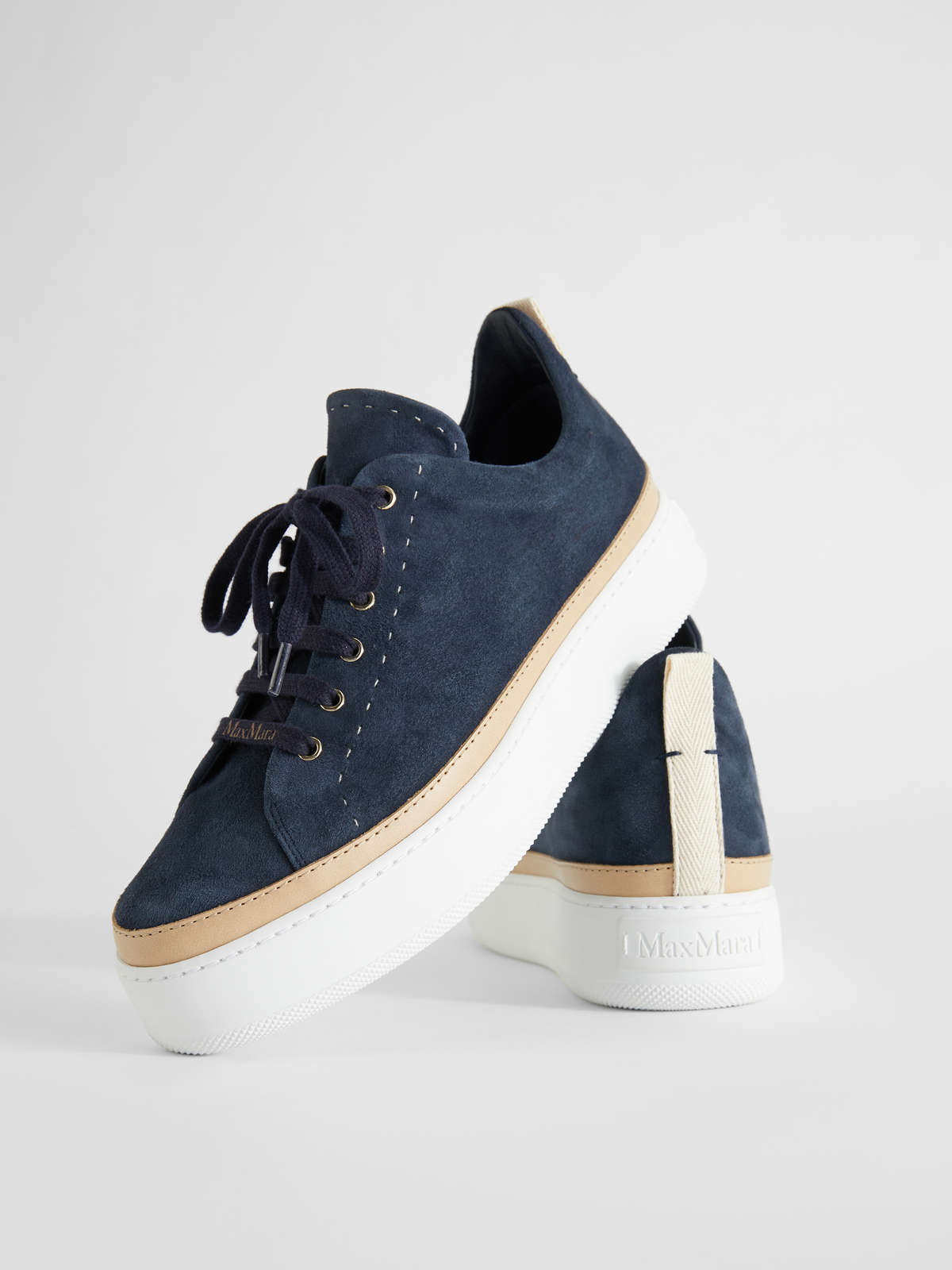 Sneaker In Pelle Scamosciata - Max Mara