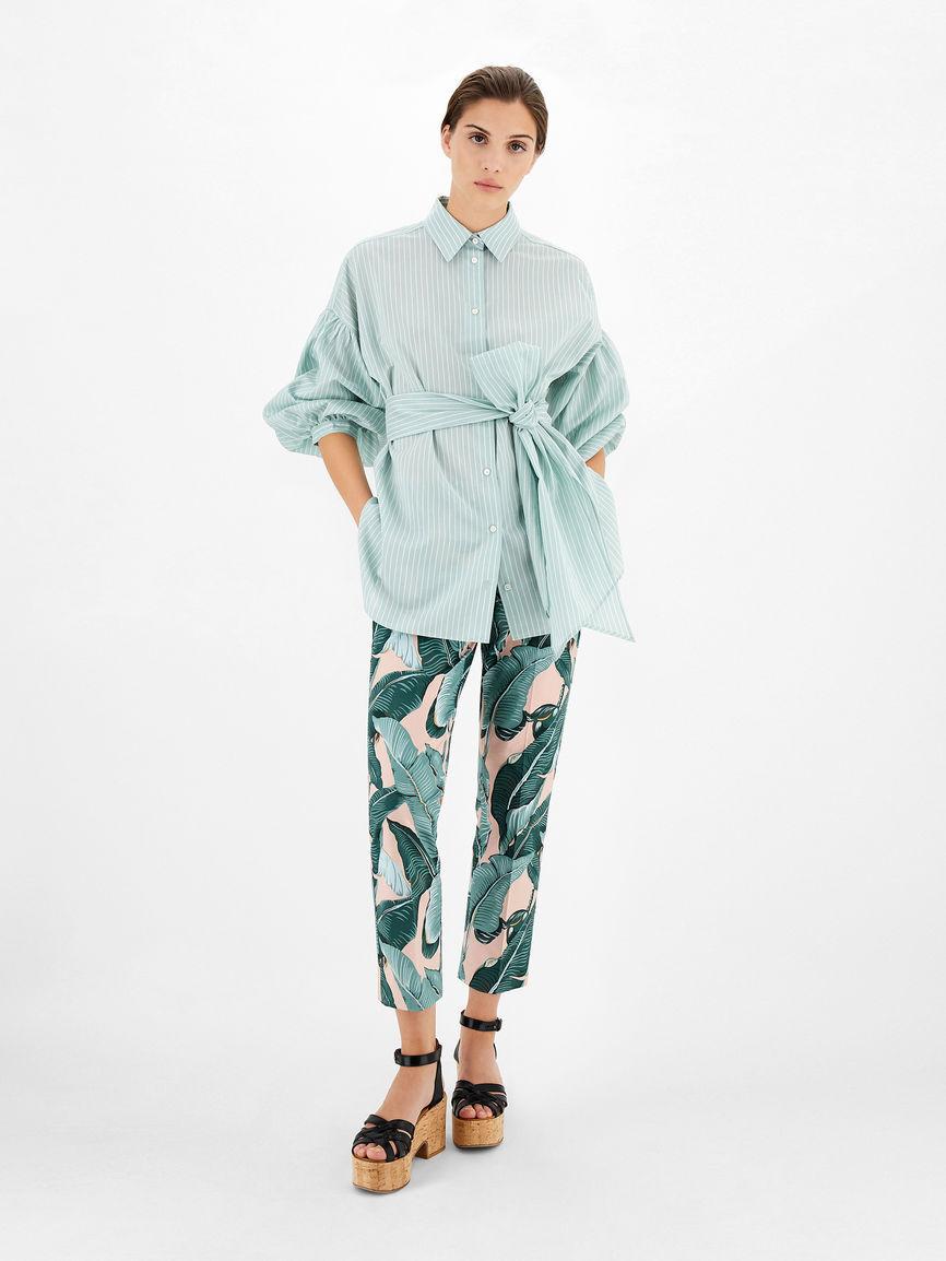 Camicia In Cotone E Seta - Max Mara