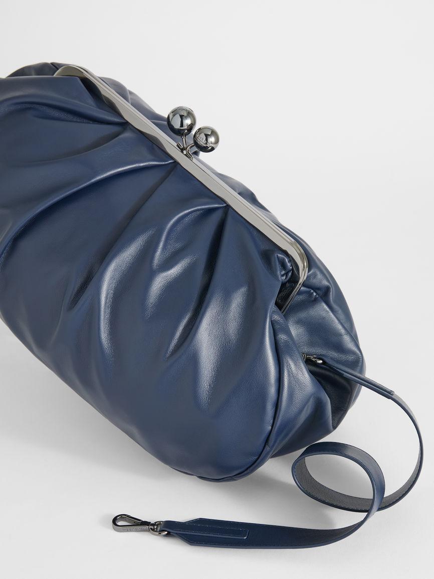 Large Leather Pasticcino Bag - Max Mara