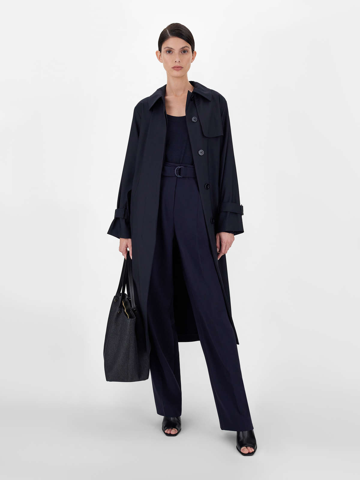 Drip-proof wool canvas trench coat - Max Mara