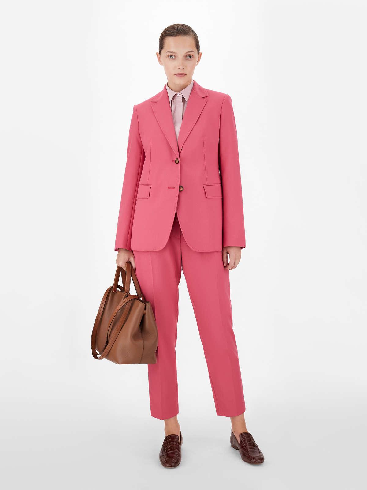 Cotton crepe trousers - Max Mara