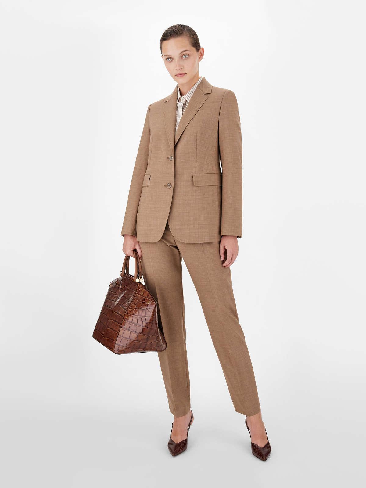 Wool canvas trousers - Max Mara
