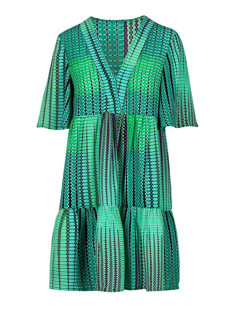 Dejanira  Argyle Dress - Anonyme Designers