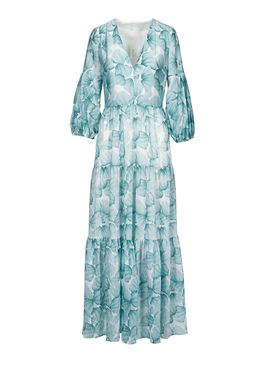 Dalmazia Aqua Dress - Anonyme Designers