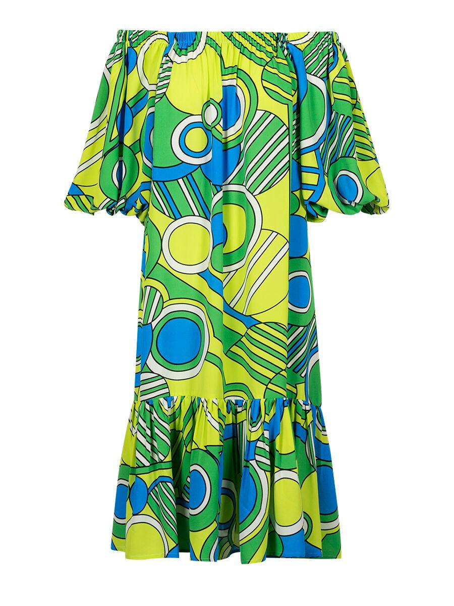 Dalit Pop Paisley Dress - Anonyme Designers