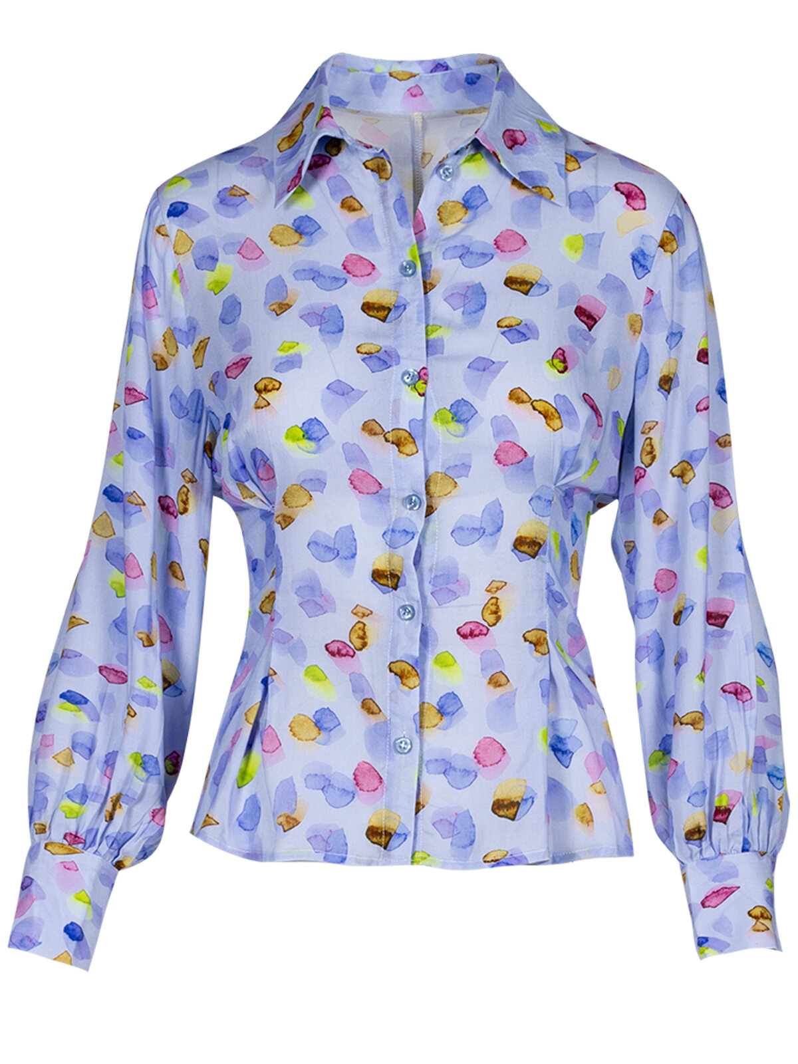 Tarquinia Ditsy Shirt - Anonyme Designers