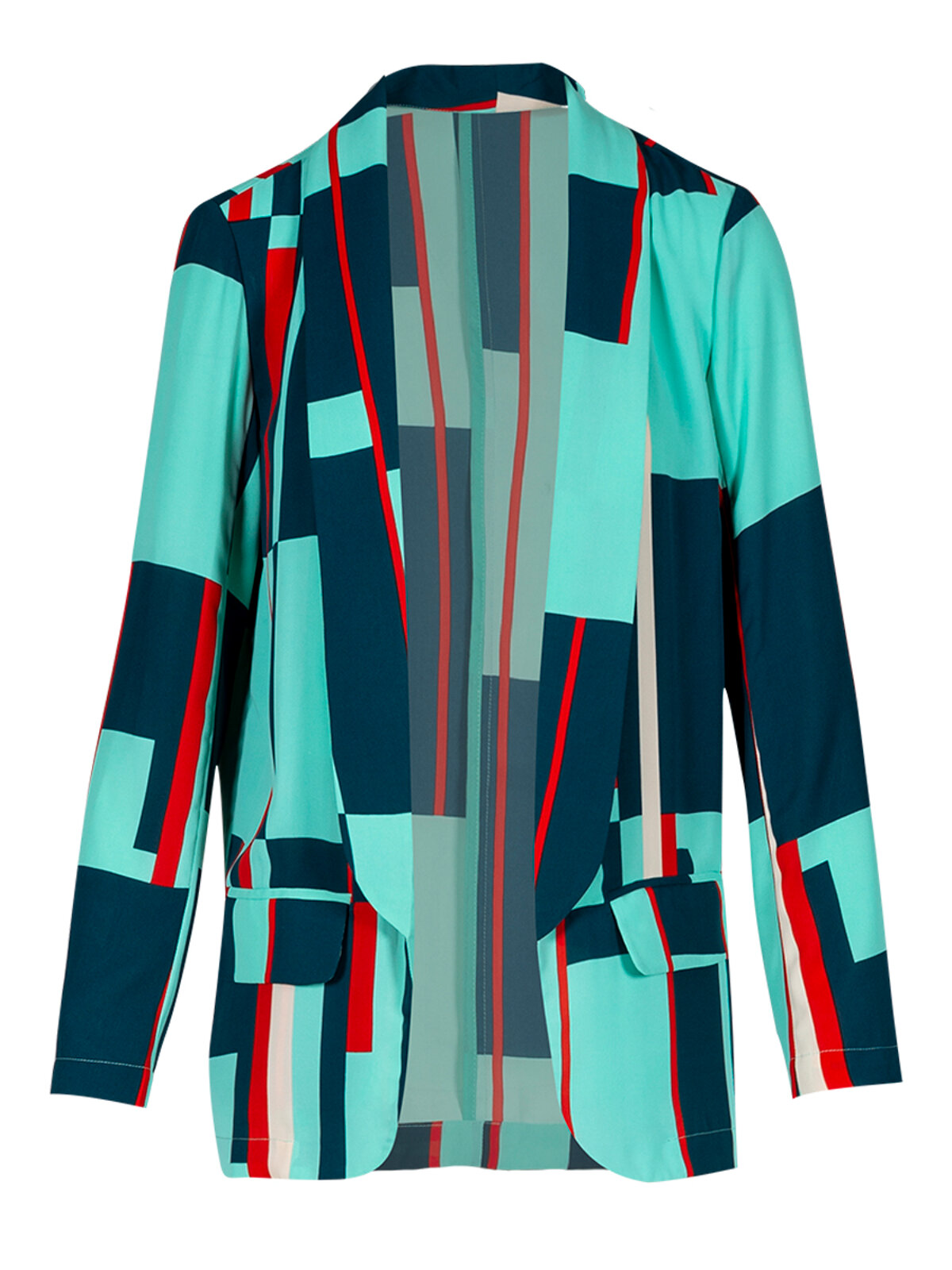Giulia M/L Windowpane Jacket - Anonyme Designers