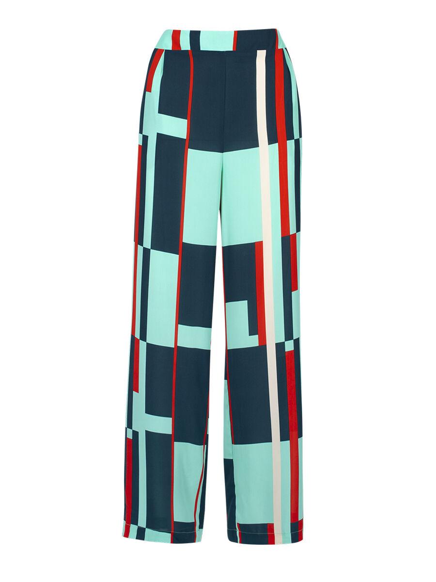 Paola Windowpane Trouser - Anonyme Designers