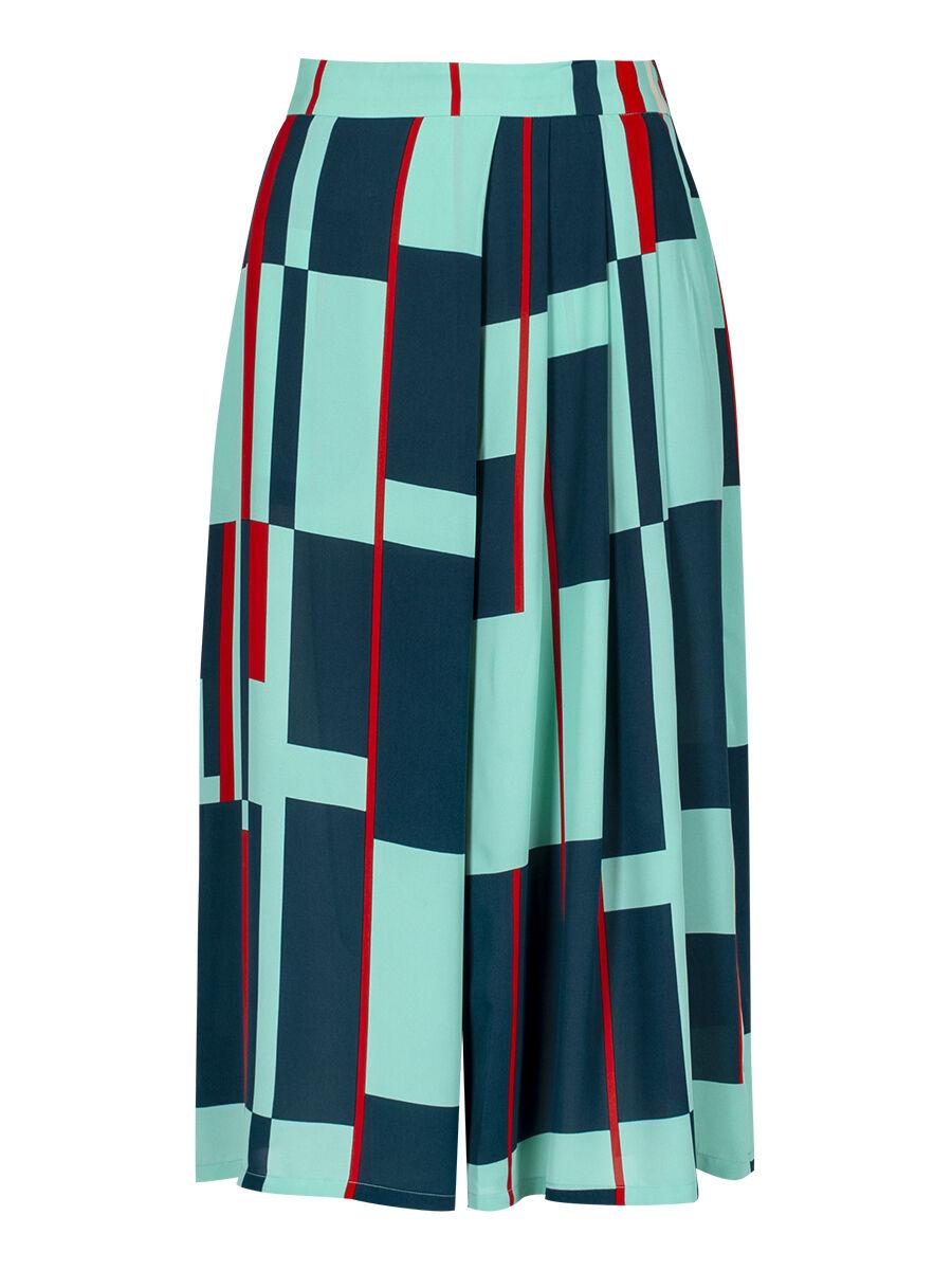 Paloma Windowpane Trouser - Anonyme Designers