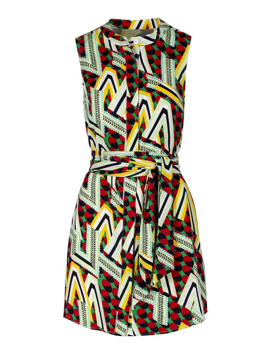 Danza Pop Chevron Dress - Anonyme Designers