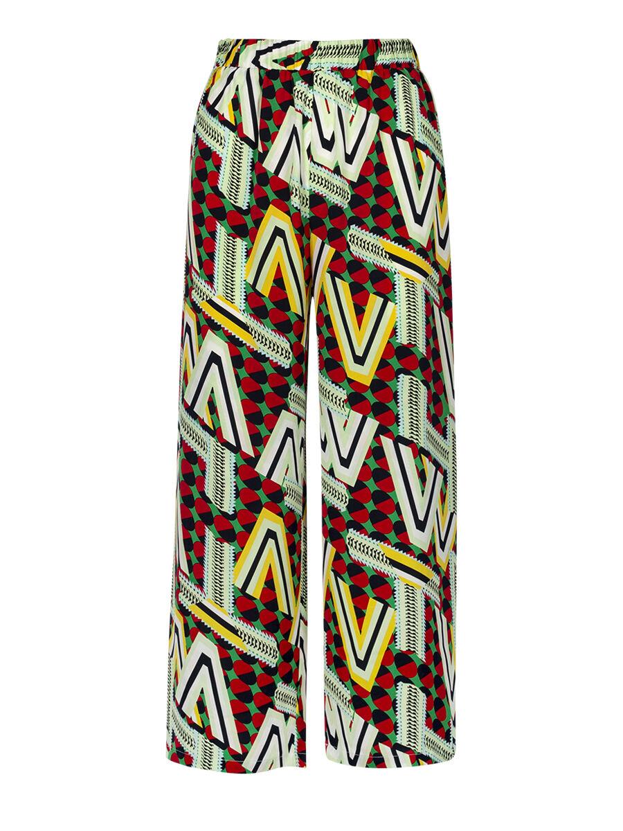 Pamina Pop Chevron Trouser - Anonyme Designers