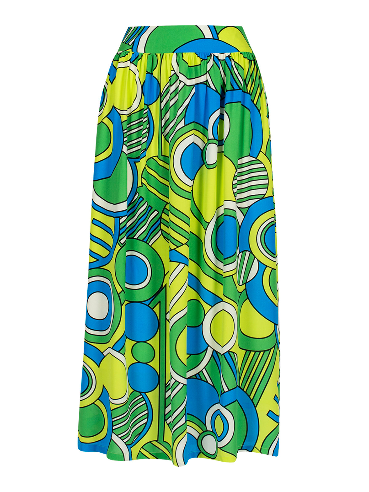 Sibilla Pop Paisley Skirt - Anonyme Designers