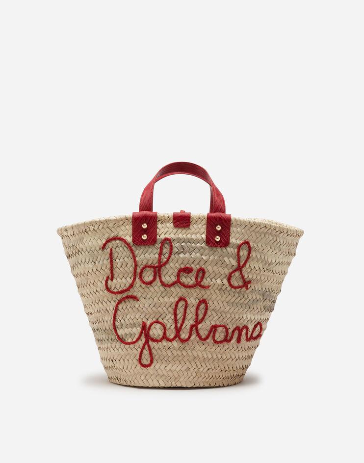 Coffa Kendra In Paglia Con Ricamo A Filo - Dolce & Gabbana