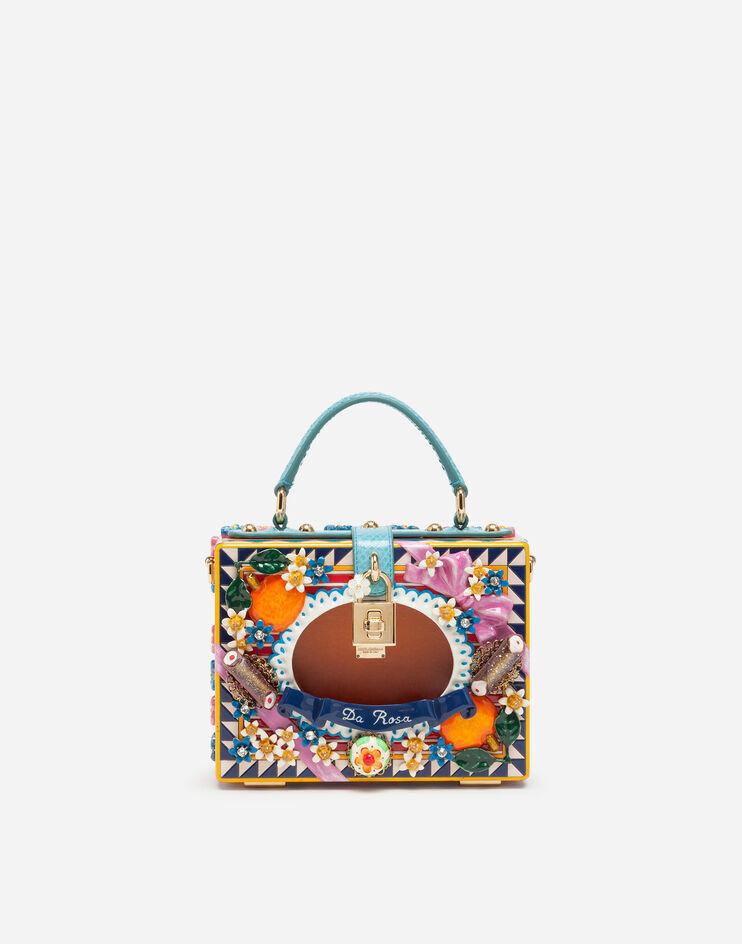 Borsa Dolce Box In Legno Dipinto A Mano - Dolce & Gabbana