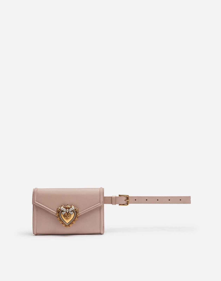 Marsupio Devotion In Vitello Liscio - Dolce & Gabbana
