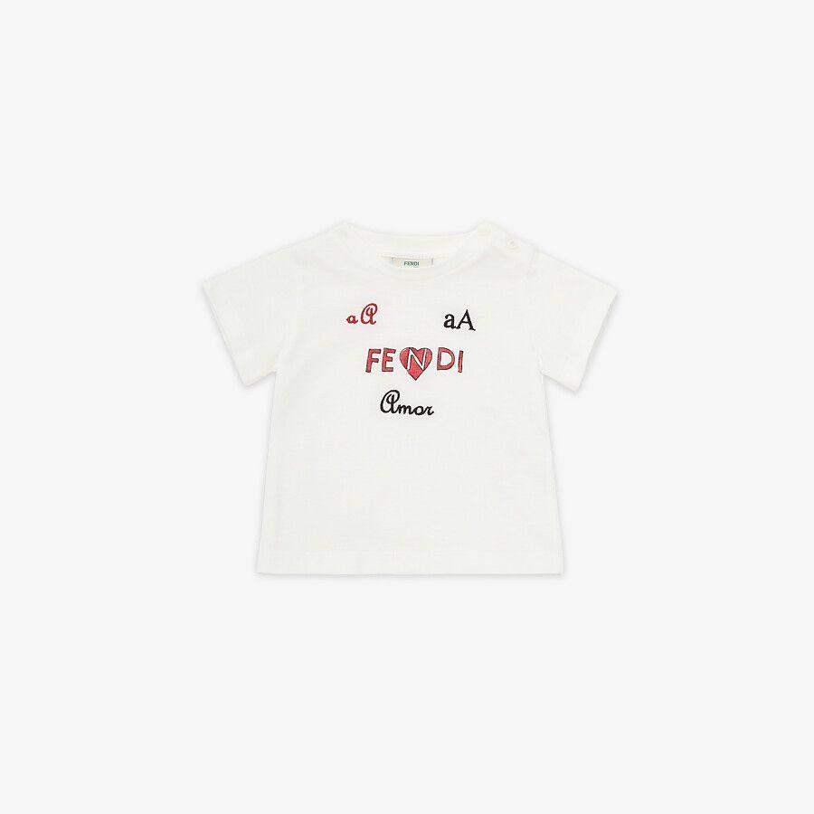 T-Shirt Per Neonati - Fendi Junior