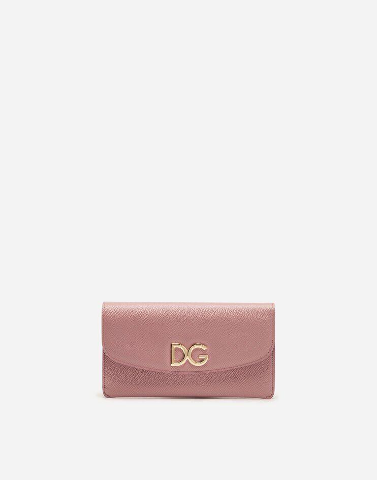 Wallet Bag In Vitello Dauphine - Dolce & Gabbana