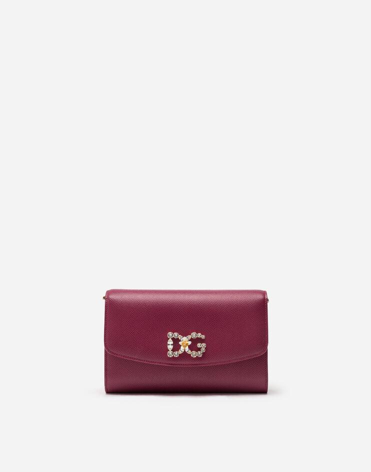Minibag In Vitello Dauphine - Dolce & Gabbana