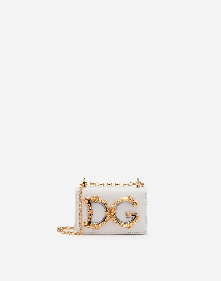 Micro Bag Dg Girls In Vitello Liscio - Dolce & Gabbana