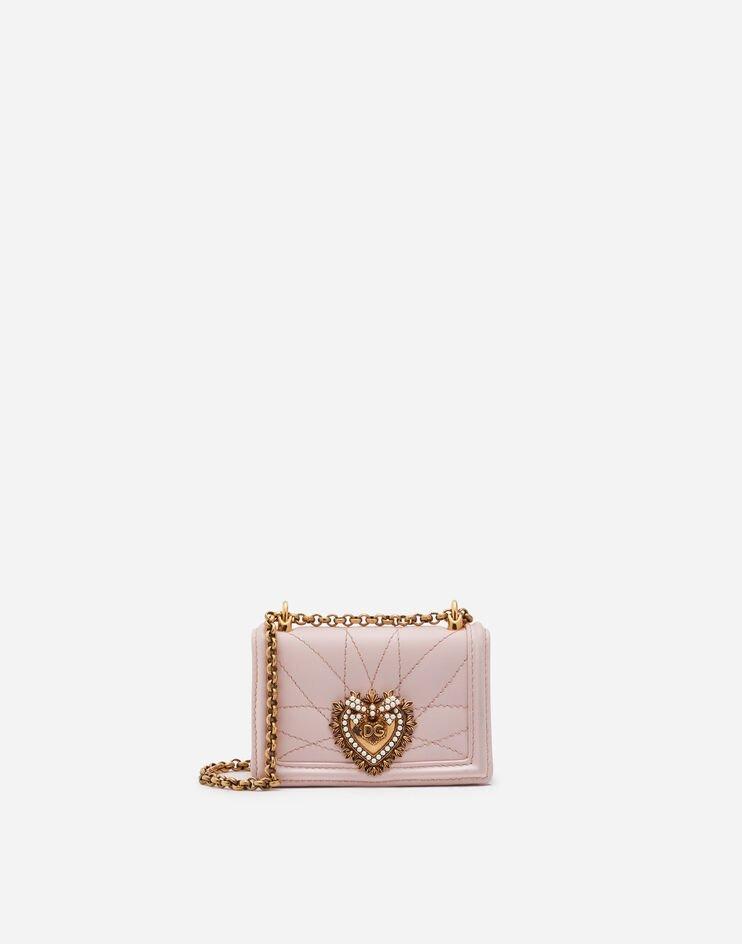 Micro Bag Devotion In Nappa Matelassé - Dolce & Gabbana