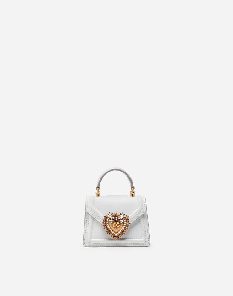 Micro Bag Devotion In Vitello Liscio - Dolce & Gabbana