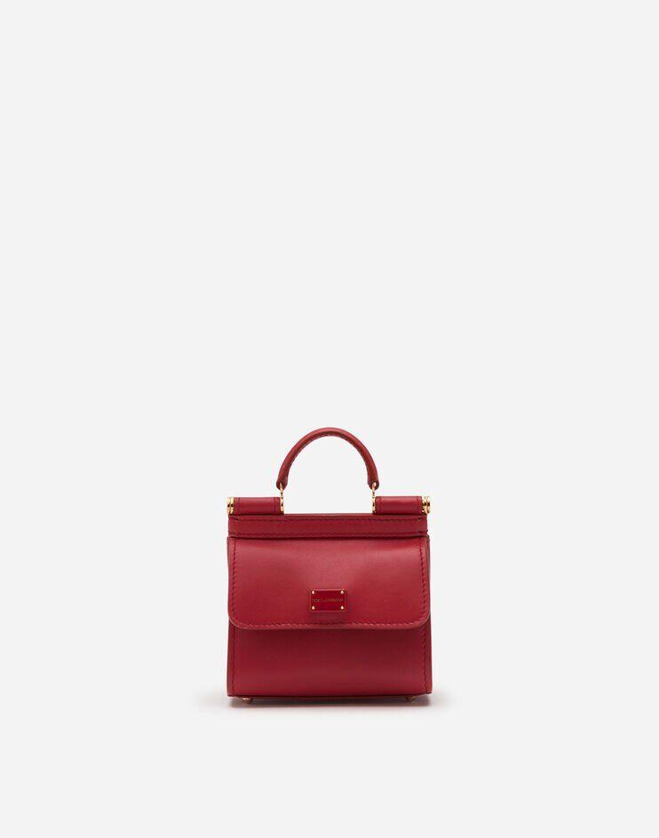 Micro Bag Sicily 58 In Vitello Liscio - Dolce & Gabbana