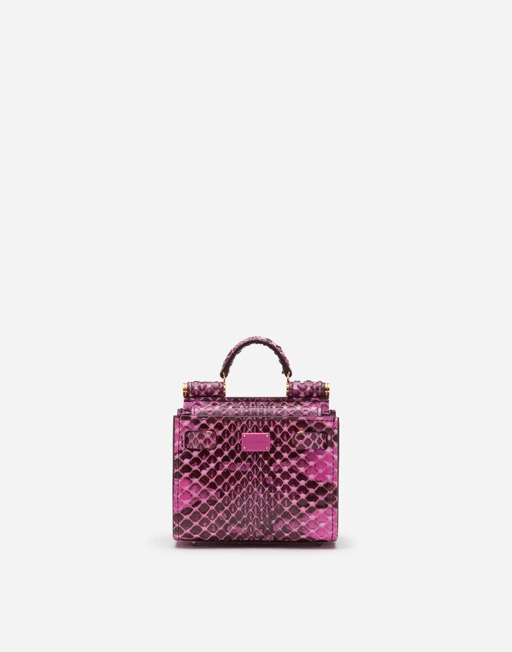 Micro Bag Tote Sicily 62 In Elaphe - Dolce & Gabbana