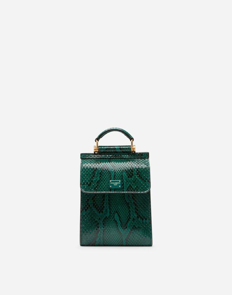 Phone Bag Sicily 58 In Pitone - Dolce & Gabbana