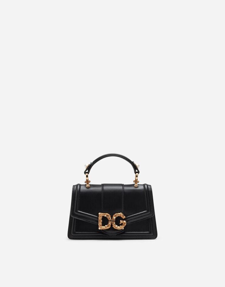 Mini Bag Dg Amore In Vitello Liscio - Dolce & Gabbana