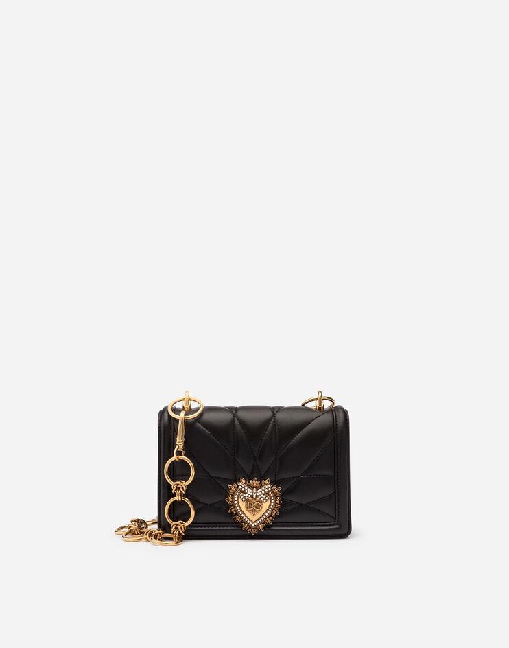 Mini Bag Devotion In Nappa Matelassé - Dolce & Gabbana