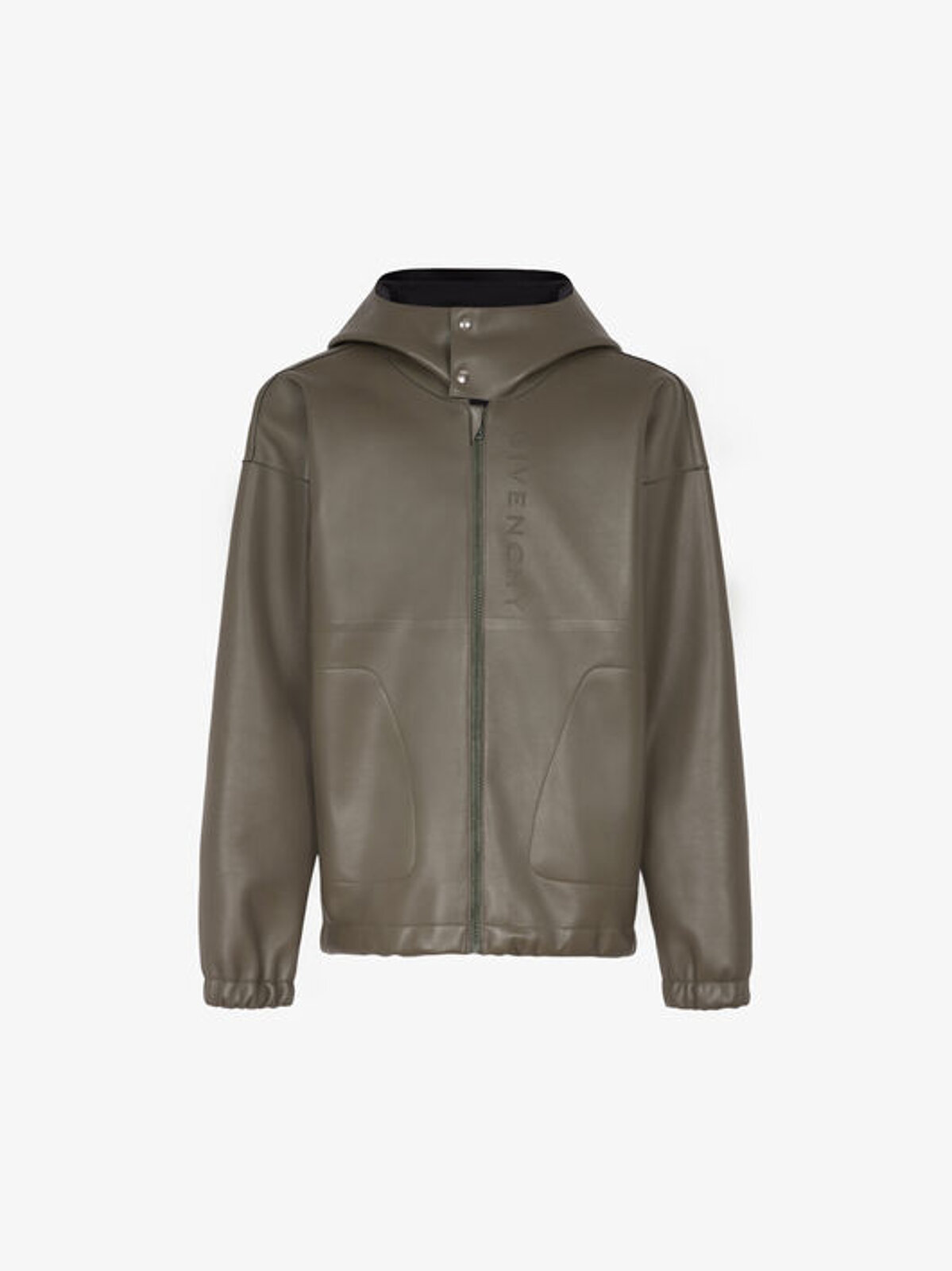 GIVENCHY hooded leather jacket - Givenchy