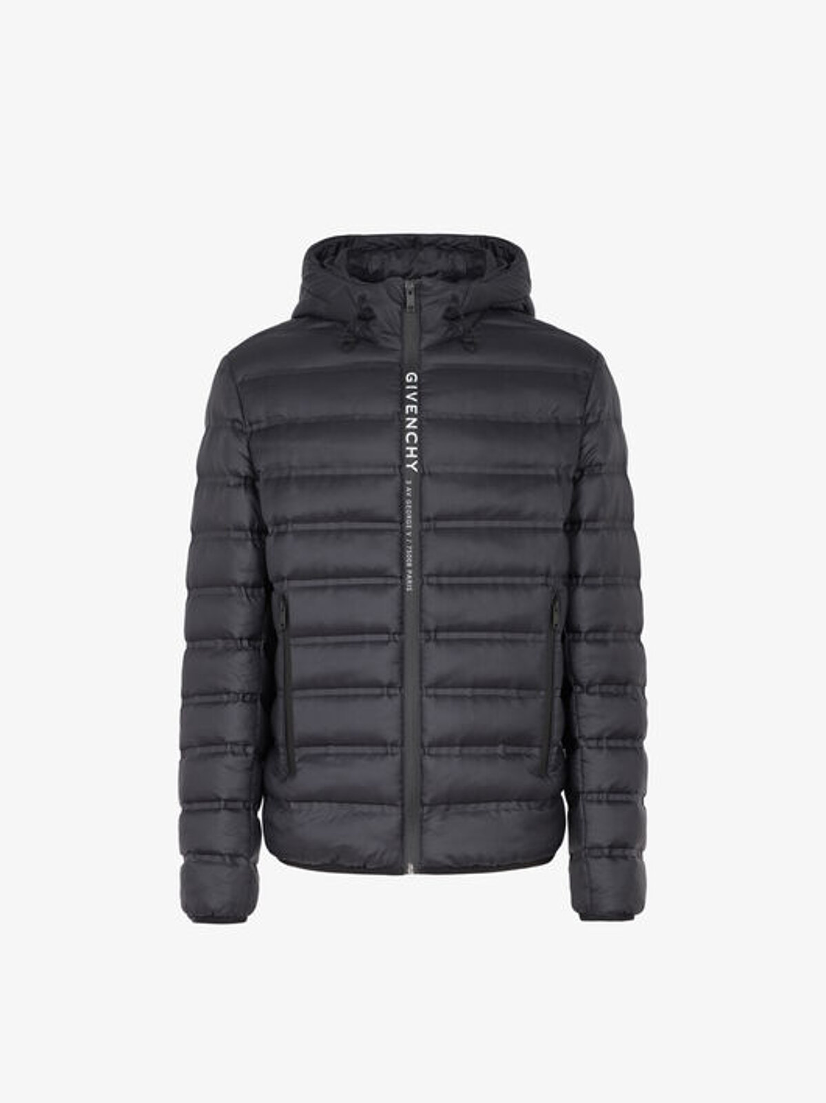 Down jacket with GIVENCHY stripe - Givenchy