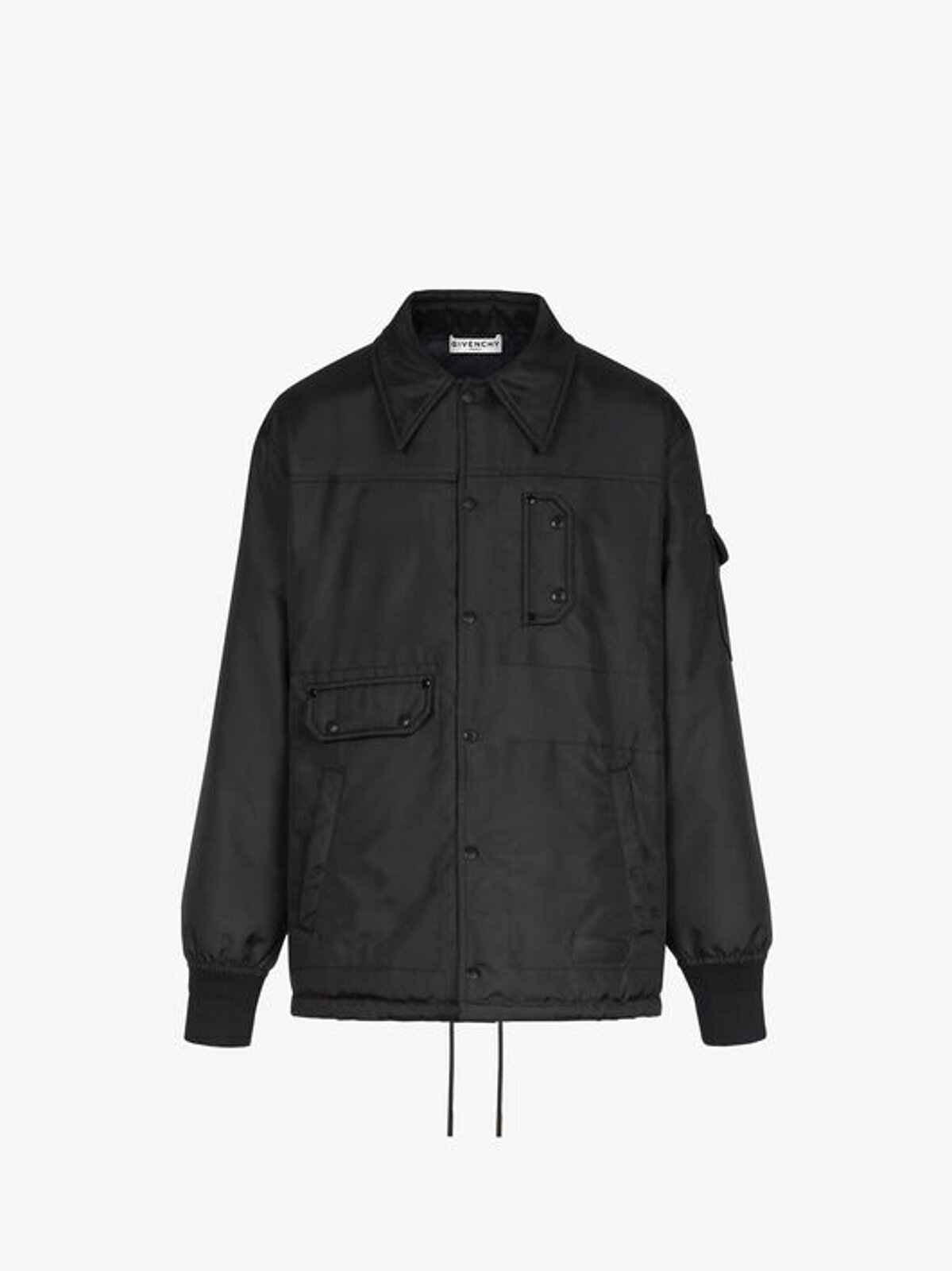 Reversible quilted nylon windbreaker - Givenchy