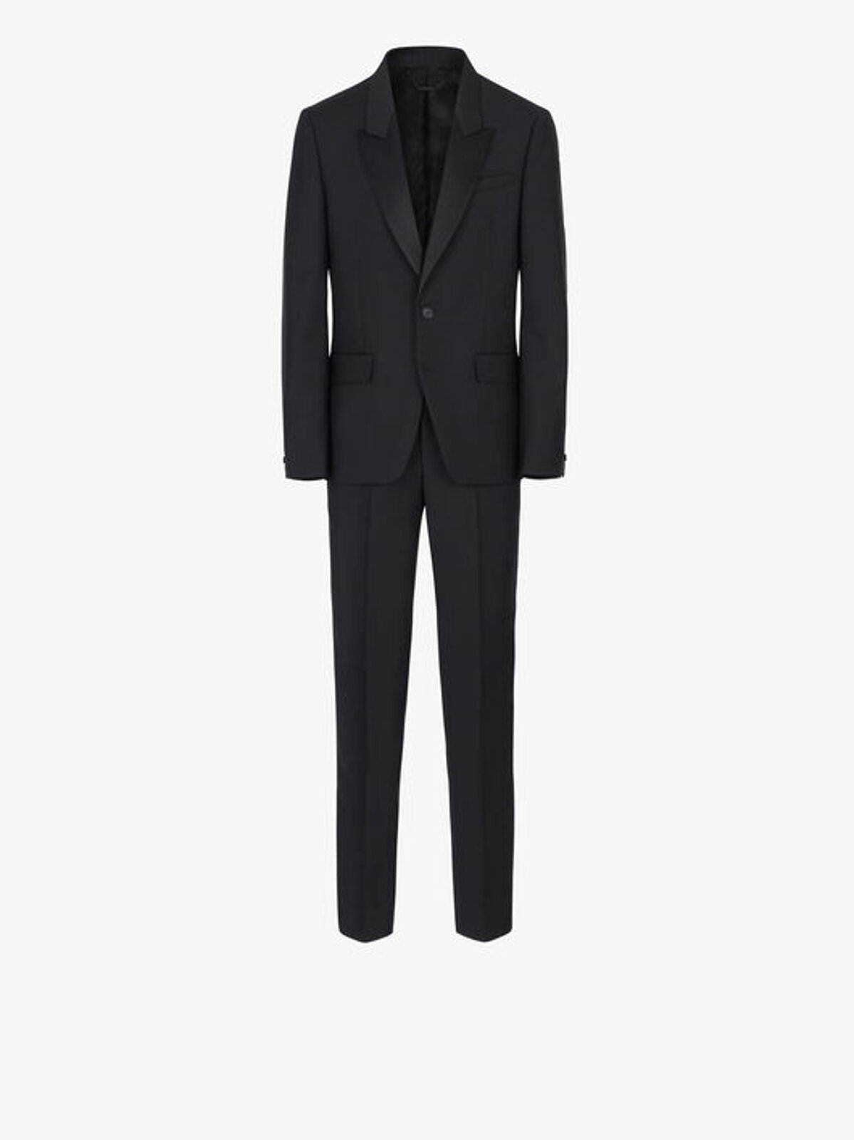 Smoking Slim Fit Con Collo Di Satin - Givenchy