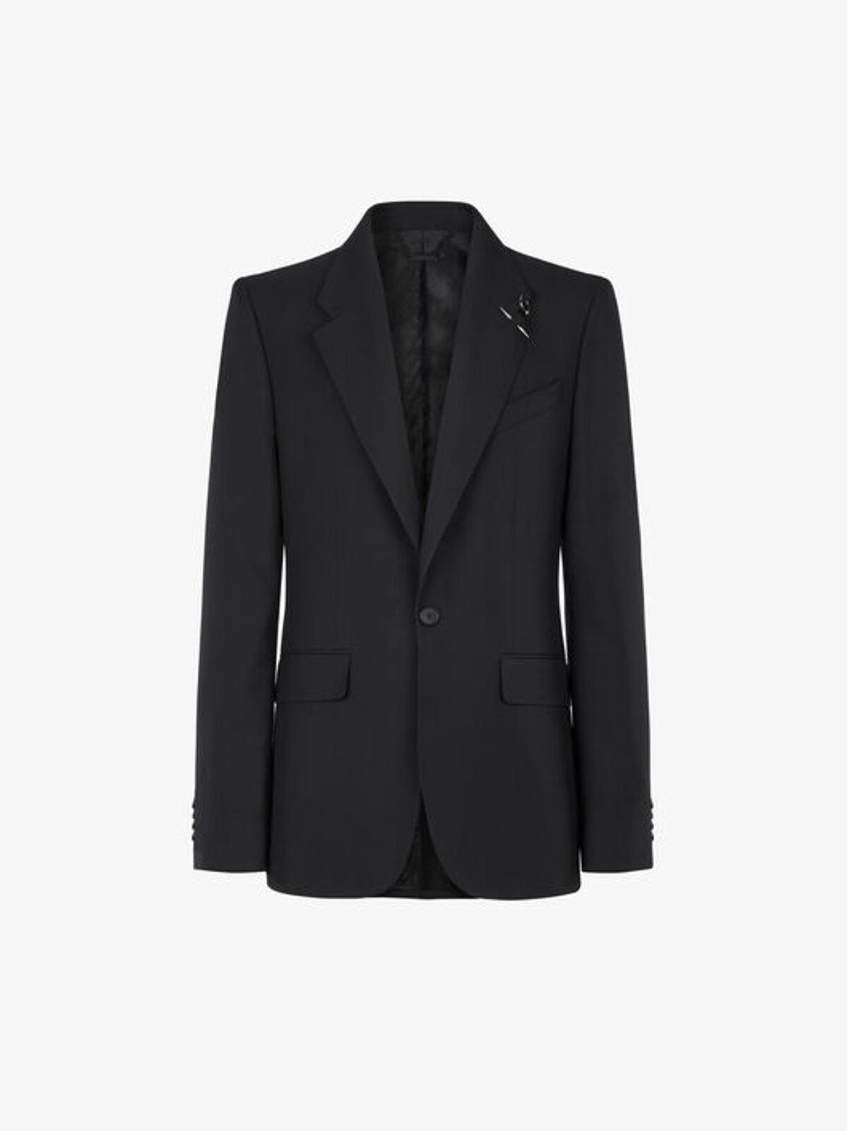Light wool jacket with bijou - Givenchy