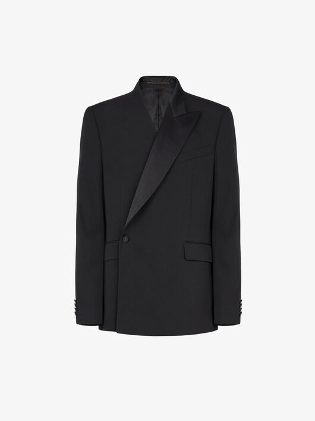 Double-breasted jacket with asymmetrical collar - Givenchy