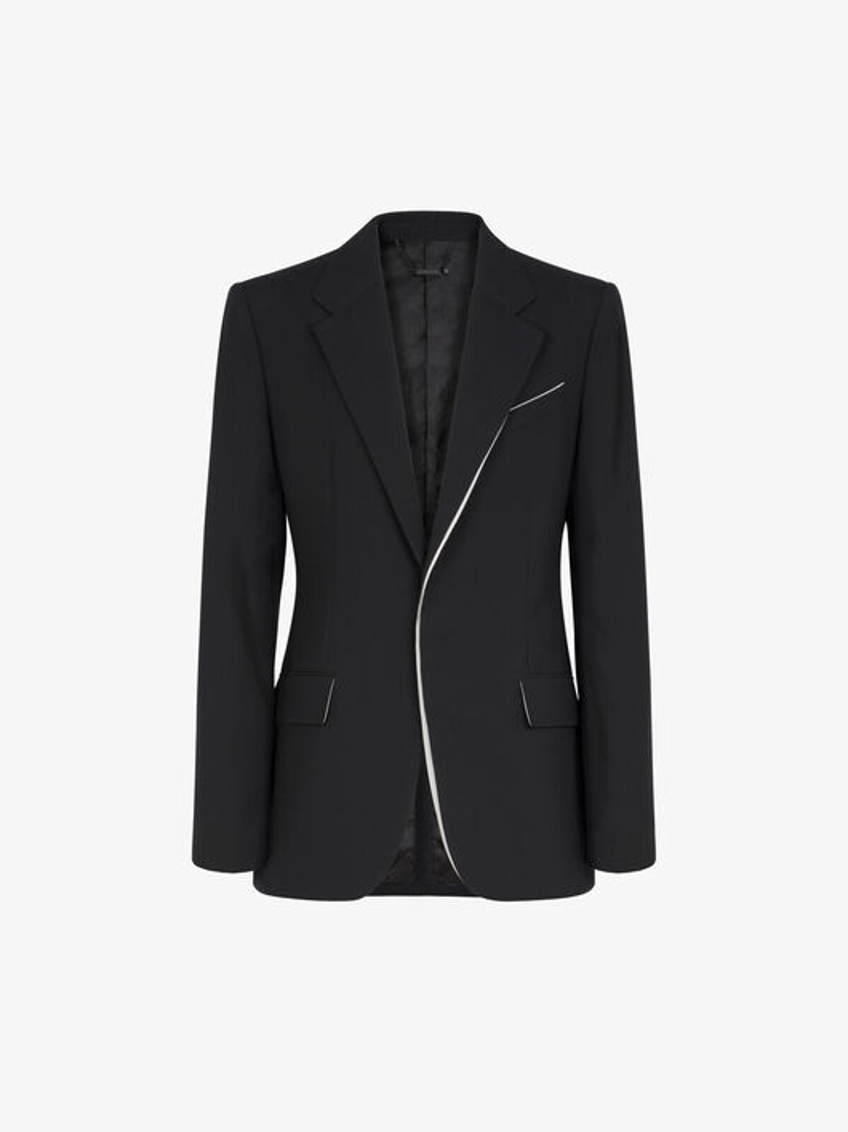 Wool jacket with contrasting details - Givenchy
