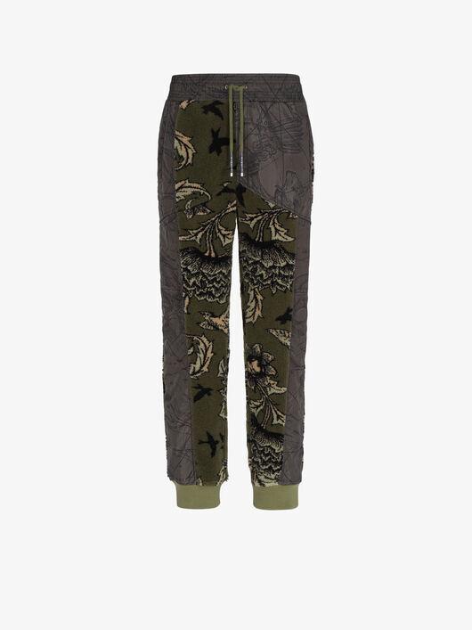Pantaloni Da Jogging Con Motivo Floreale - Givenchy