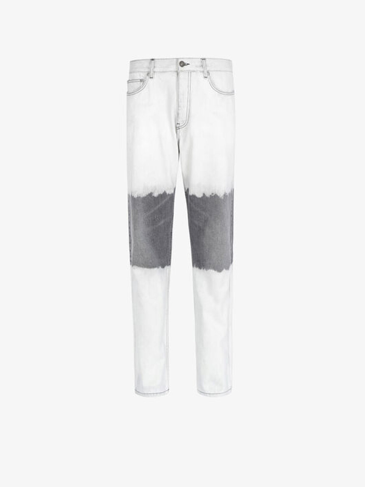 Jeans In Denim Bicolore - Givenchy