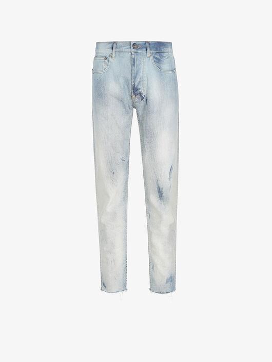 Jeans Skinny Corti A Taglio Vivo - Givenchy