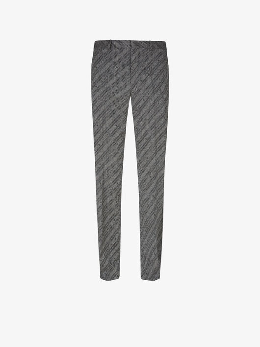 Pantaloni Givenchy Chaîne In Jacquard - Givenchy