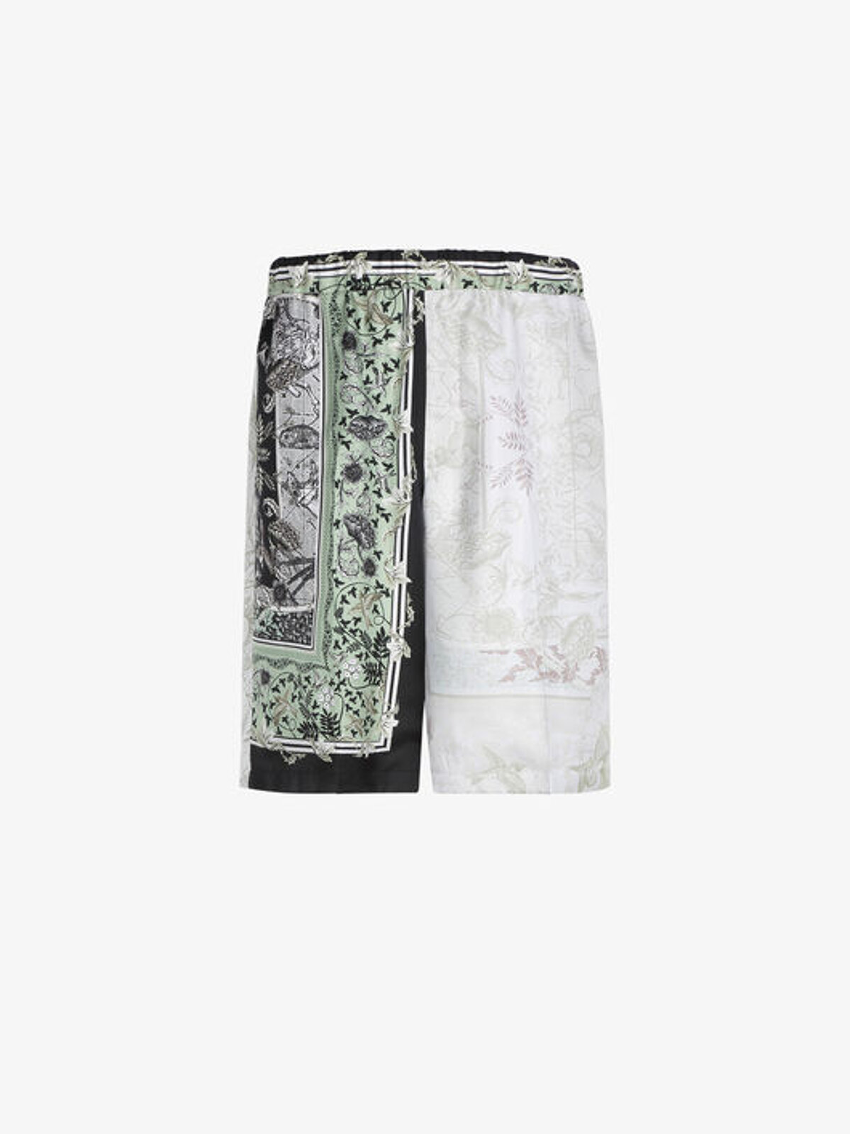 Bermuda shorts with Atlantis patchwork print - Givenchy