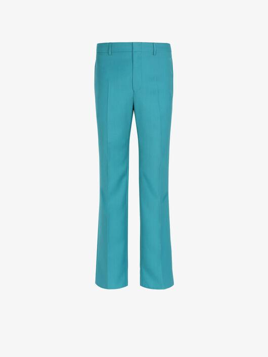 Pantaloni Slim Fit Di Lana - Givenchy